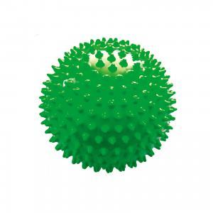 Мяч ёжик зеленый, 6,5 см, МалышОК