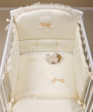 Комплект в кроватку  Sissi (3 предмета) с балдахином Picci