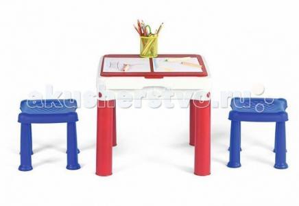 Столик для игр с конструктором 3 в 1 Keter