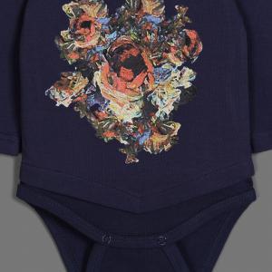 Боди  Вернисаж, цвет: синий Ёмаё