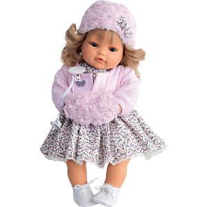 Кукла Белла в розовом,  42 см, Munecas Antonio Juan