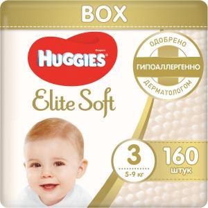 Подгузники  Elite Soft 3 (5-9 кг) 160 шт. Huggies