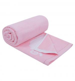 Полотенце Овечка , цвет: розовый Артпостель